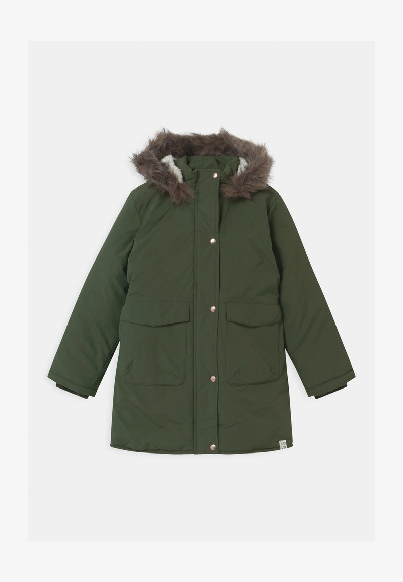 Name it - NKFMAYA  - Zimní kabát - thyme