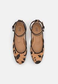 NAE Vegan Shoes - LEEN VEGAN  - Ballerinat nilkkaremmillä - brown - 5