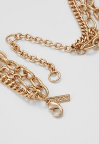 Topshop - 3 CHAIN CHOKER - Halskette - gold-coloured - 2