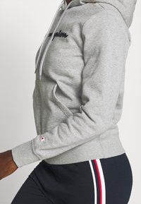 Champion - ESSENTIAL HOODED LEGACY - Bluza z kapturem - mottled grey - 5