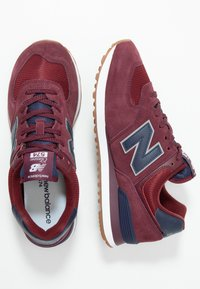 New Balance - 574 - Baskets basses - red/navy - 1