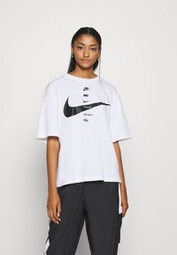 Nike Sportswear - Camiseta estampada - white/black - 0