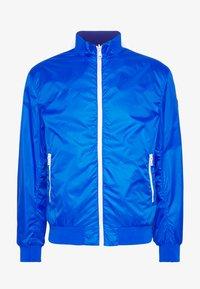 MENS REVERSIBLE - Summer jacket - JUPITER/NAVY BLUE