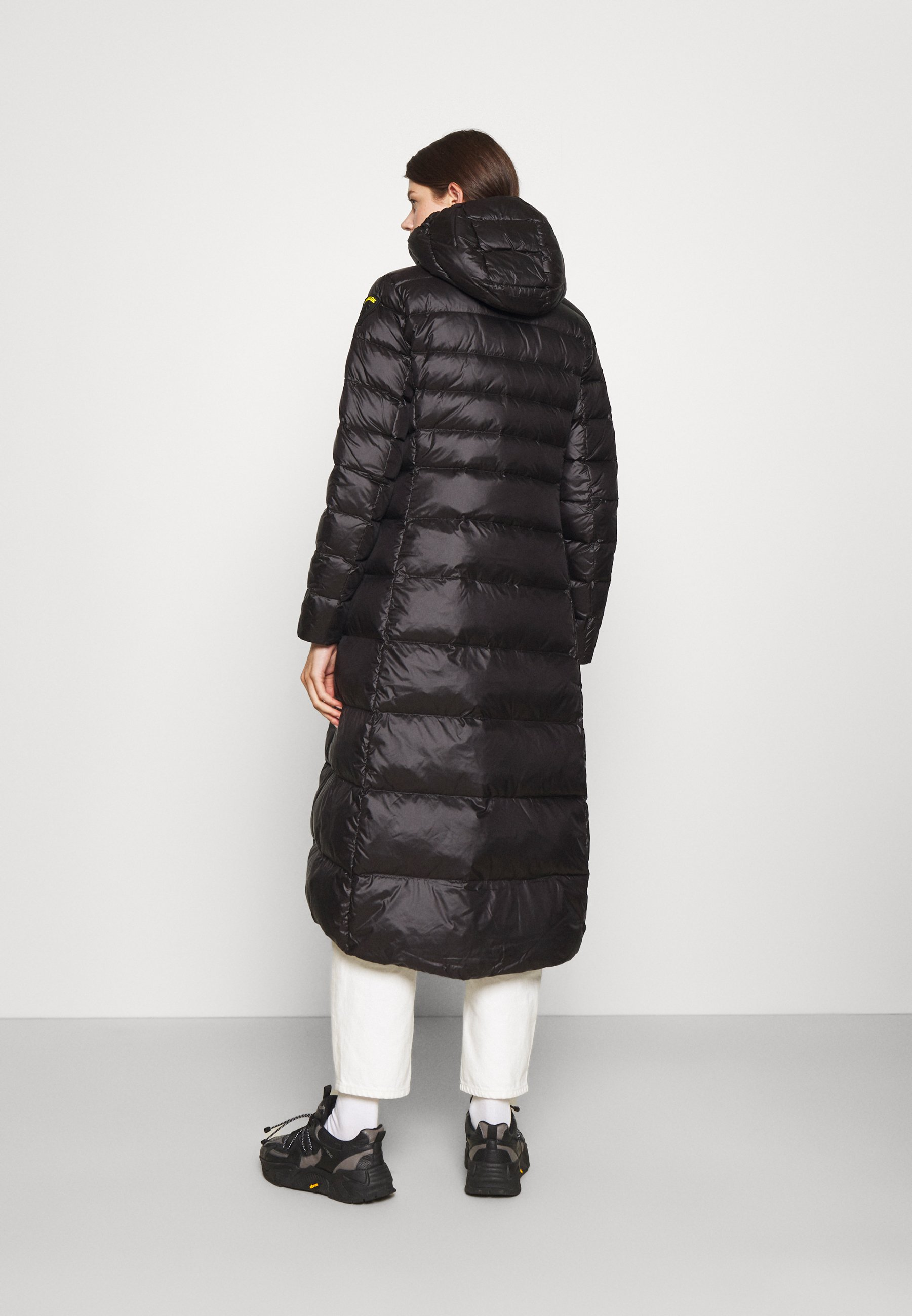 Damen BASIC COAT LONG LENGTH HOOD - Daunenmantel