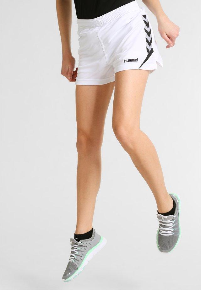 CHARGE SHORTS - Short de sport - white
