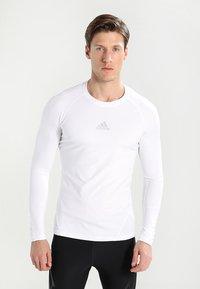 adidas Performance - Sports shirt - white - 0