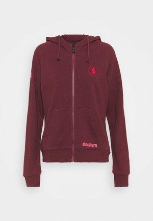 RIDERZ - Zip-up hoodie - windsor wine