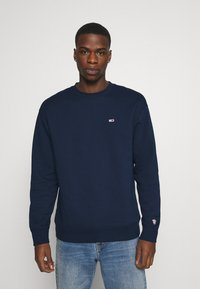 Tommy Jeans - CLASSICS CREW - Sweatshirt - twilight navy - 0