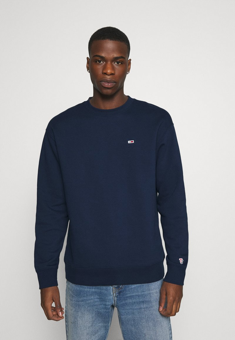 Tommy Jeans - CLASSICS CREW - Sweatshirt - twilight navy