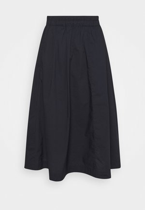 A-line skirt - dark atlantic