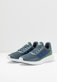 adidas Performance - TENSAUR RUN UNISEX - Neutral running shoes - legend blue/royal blue/signal green - 2