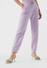 Stradivarius - Tracksuit bottoms - purple - 0