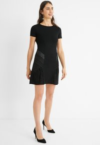 Desigual - Jumper dress - black - 1