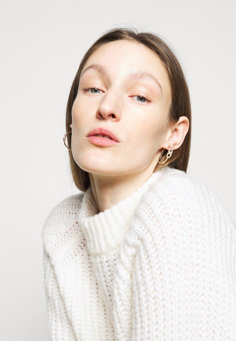 Lauren Ralph Lauren - STIRRUP HOOP - Earrings - gold-coloured