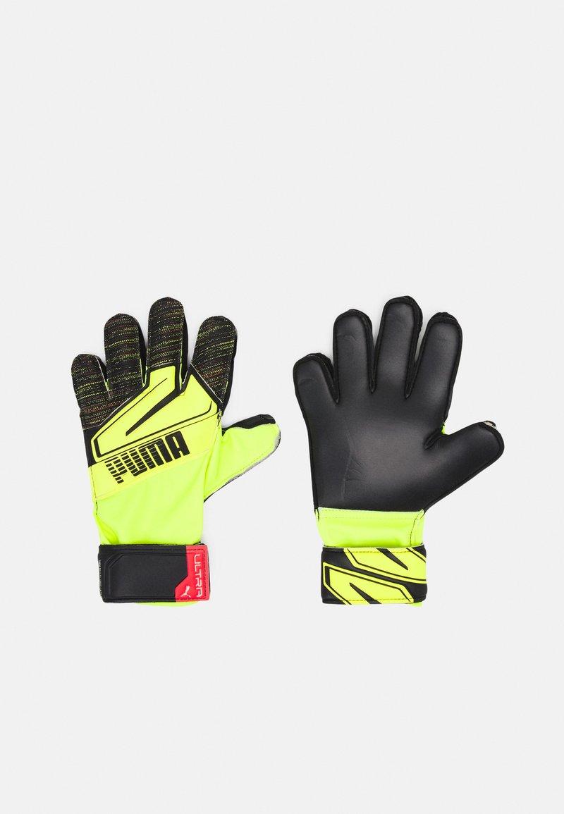 Puma - ULTRA PROTECT 3 JR - Brankářské rukavice - yellow alert/black