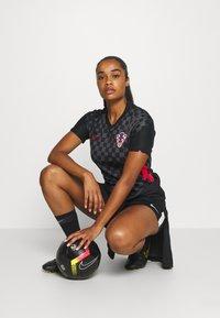 Nike Performance - KROATIEN - National team wear - anthracite/black/university red - 1