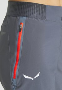 Salewa - PEDROC CARGO - Sports shorts - ombre blue - 4