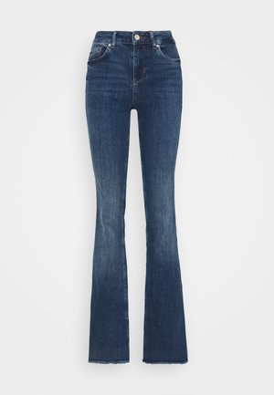 BEAT - Jeansy Dzwony - light-blue denim