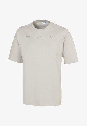 Basic T-shirt - flint gray