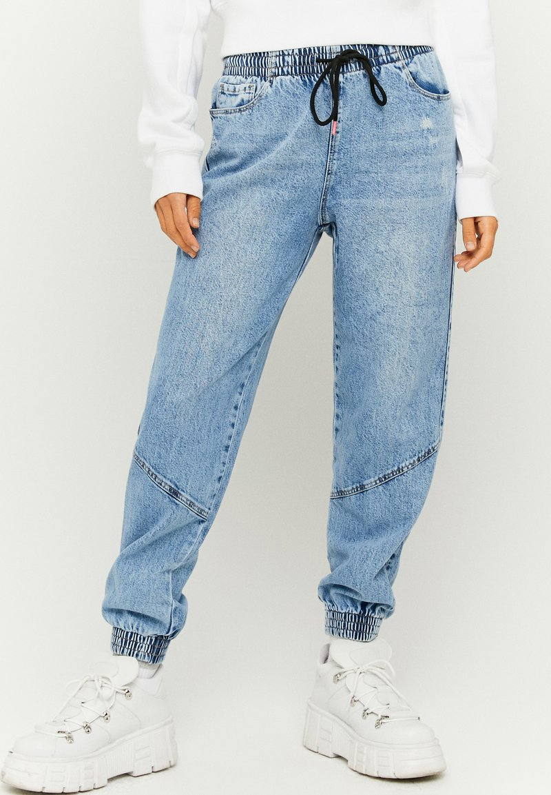 TALLY WEiJL - Straight leg jeans - blu