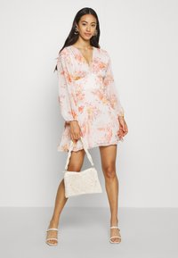 Forever New - BLOUSON MINI DRESS - Day dress - orange - 1