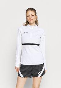 Nike Performance - ACADEMY 21 - Sweatshirt - white/black - 0
