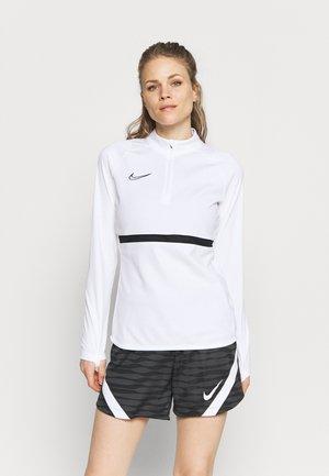 DRY ACADEMY  - Fleece jumper - white/black