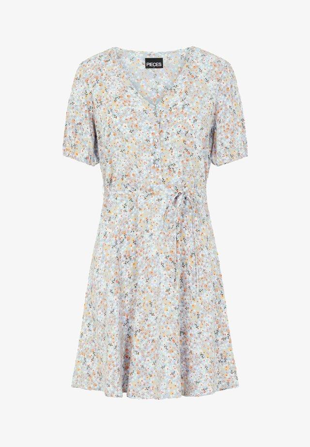 Korte jurk - kentucky blue
