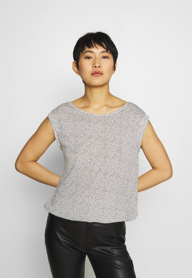 STROLCHI DOT - T-shirt con stampa - light nature