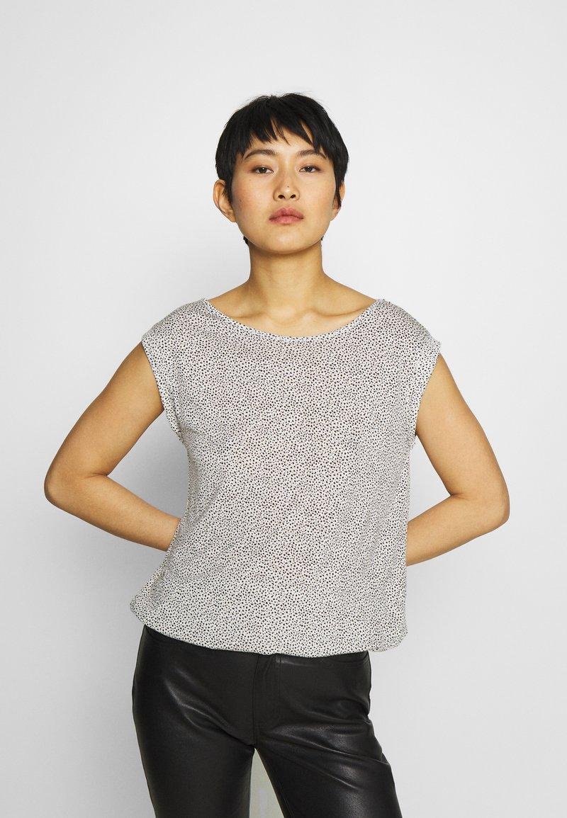 Opus - STROLCHI DOT - Print T-shirt - light nature