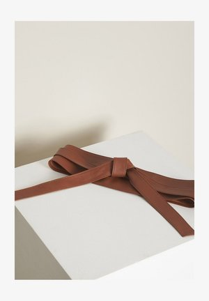 Waist belt - marron