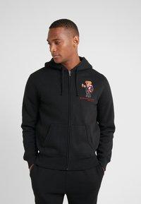 Polo Ralph Lauren - MAGIC  - veste en sweat zippée - polo black - 0