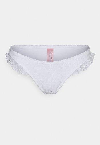 ETTA CROCHET HIGHLEG - Spodní díl bikin - snow white