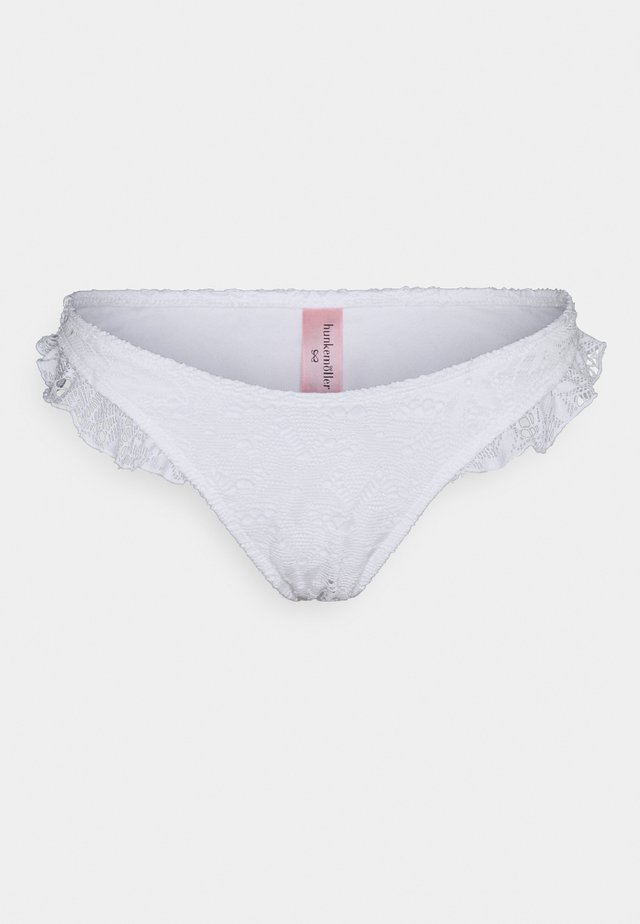 ETTA CROCHET HIGHLEG - Bikinibroekje - snow white