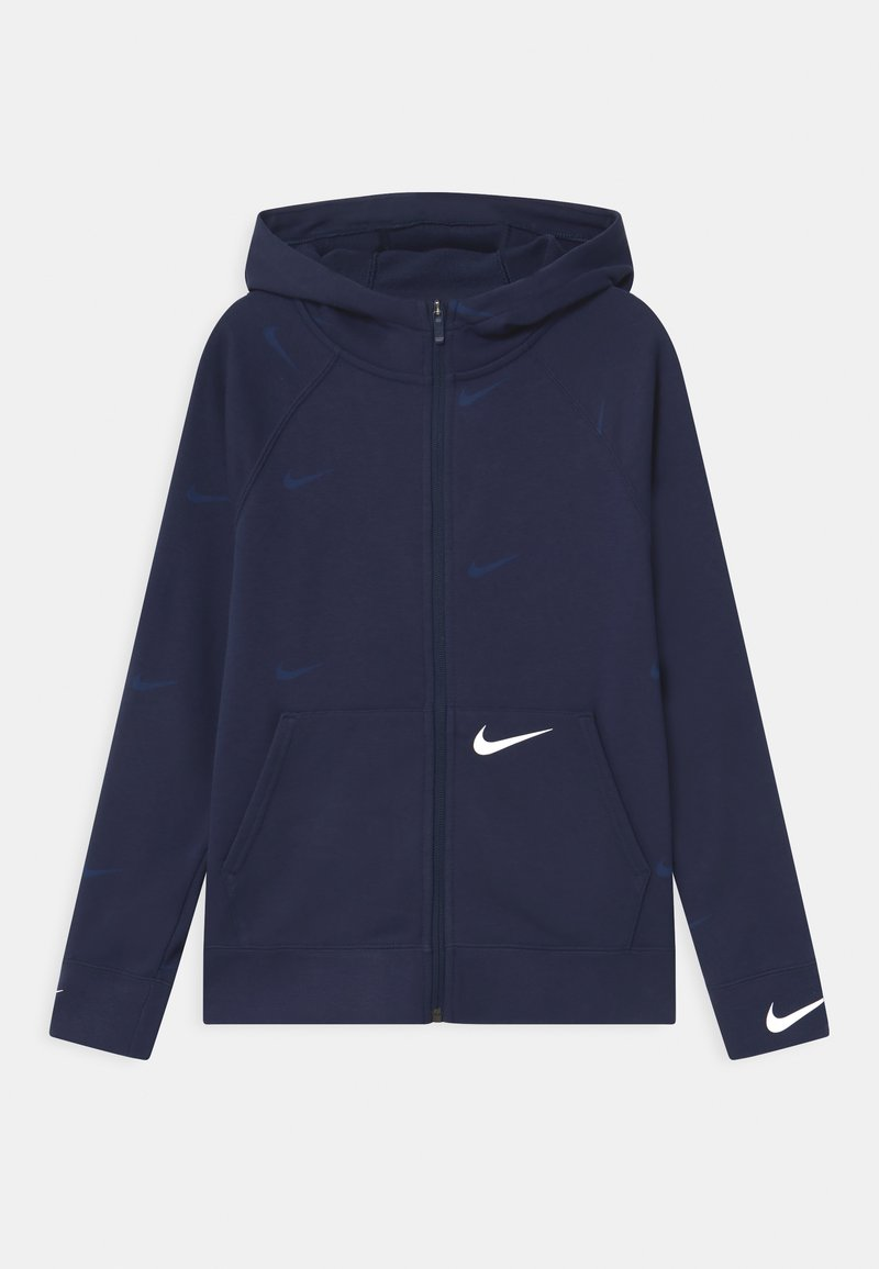 Nike Sportswear - Mikina na zip - midnight navy/white