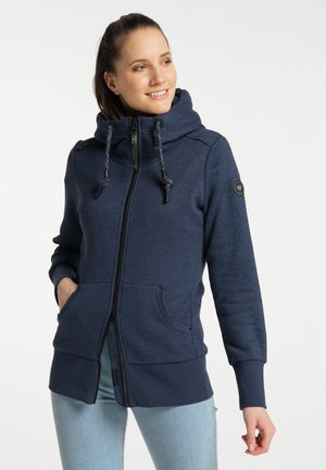 NESKA ZIP UPGRADE - Zip-up sweatshirt - navy