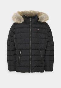 Tommy Jeans Curve - ESSENTIAL HOODED JACKET - Winter jacket - black - 4