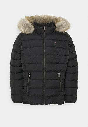 ESSENTIAL HOODED JACKET - Winter jacket - black