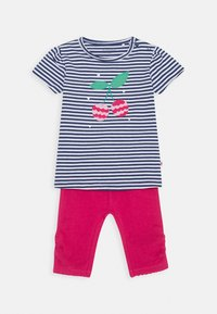 Staccato - BABY SET - Leggings - Trousers - dark blue/pink - 0