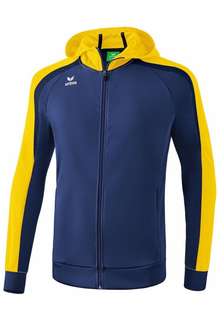 Erima - LIGA 2.0 TRAININGSKAPUZENJACKE KINDER - Training jacket - new navy / gelb