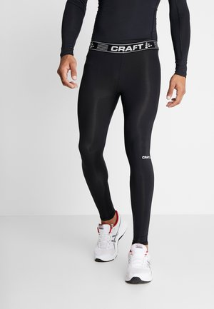 PRO CONTROL COMPRESSION - Legginsy - black