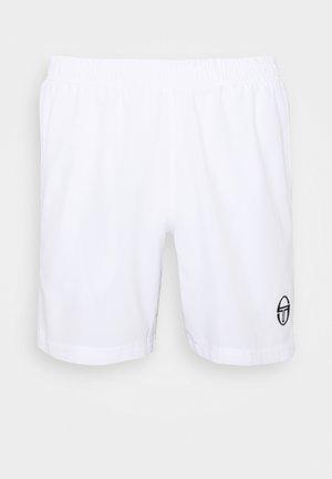 YOUNG LINE PRO SHORTS - Sportovní kraťasy - white/navy