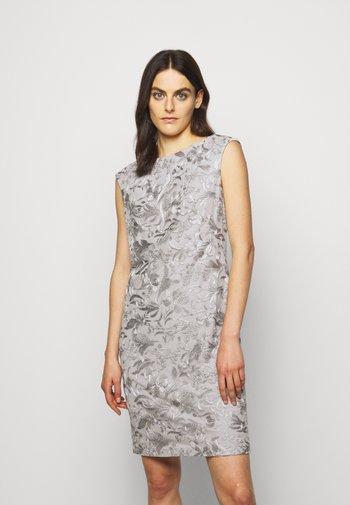 DRESS - Day dress - taupe/zinc grey