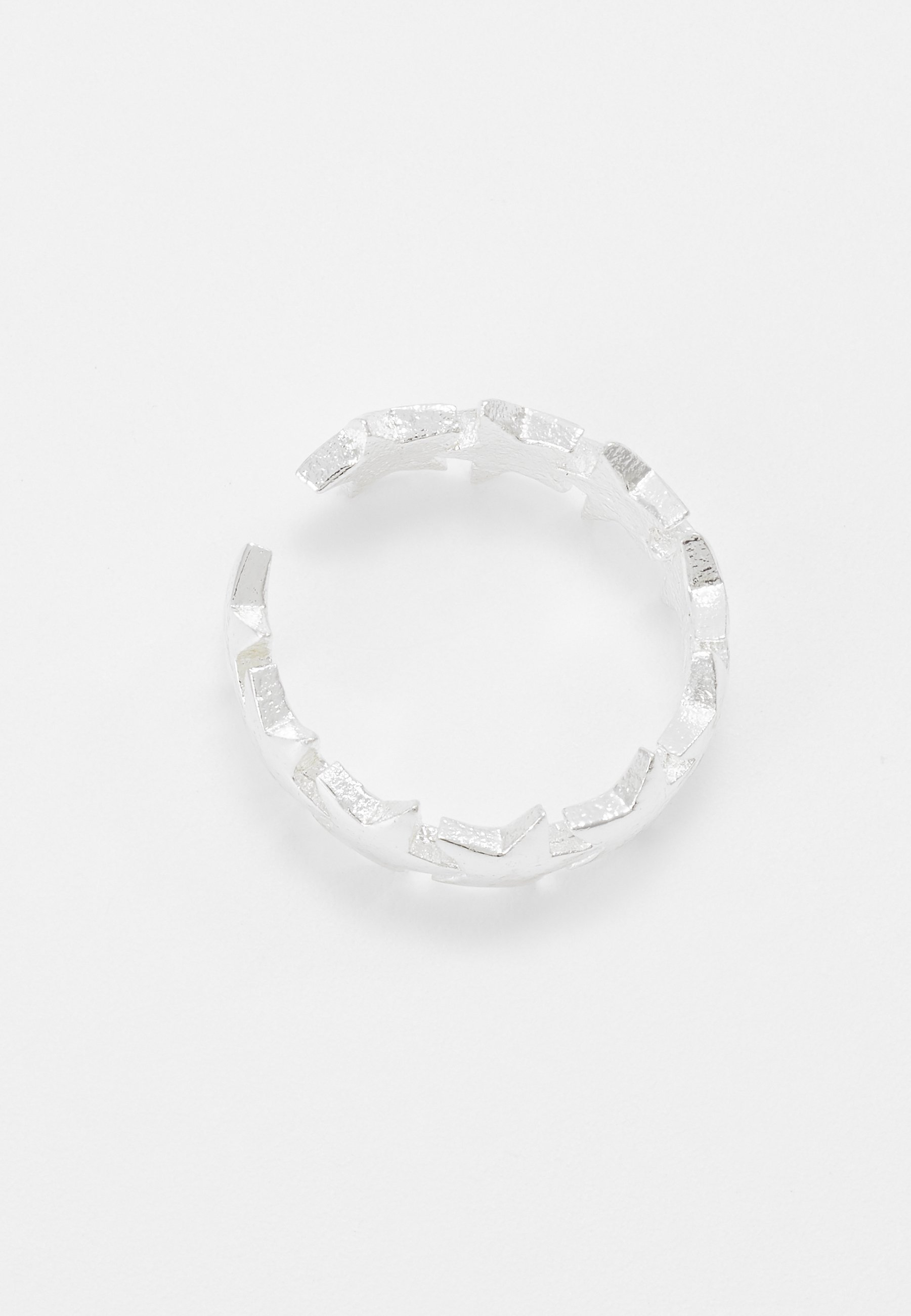 Orelia STAR STATION EAR CUFF - Øredobber - silver-coloured/sølv eeLsT5lY0AW4dQi
