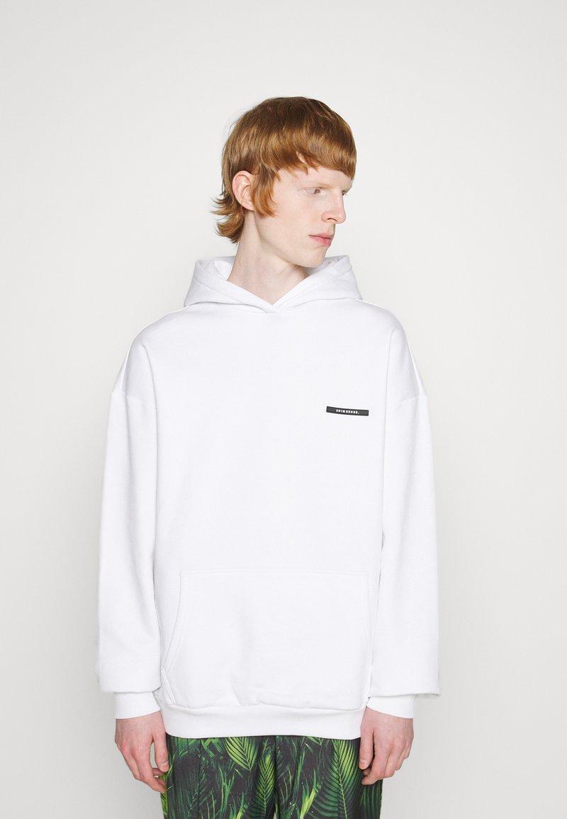 9N1M SENSE - SILENT FLOWERS HOODIE UNISEX - Sweatshirt - white