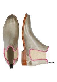Melvin & Hamilton - SNAKE KING - Ankle boots - grey - 3