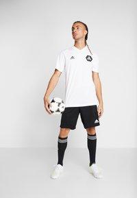 adidas Performance - TAN  - Camiseta estampada - white - 1