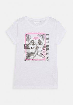 TEENAGER - T-shirt print - soft white