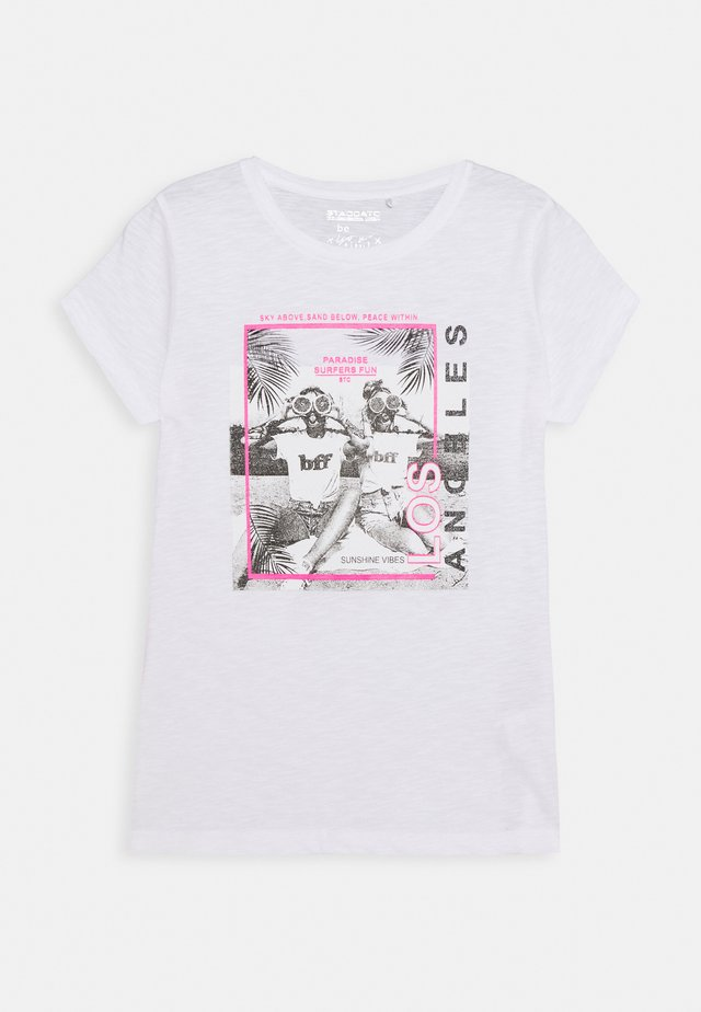 TEENAGER - T-shirts med print - soft white