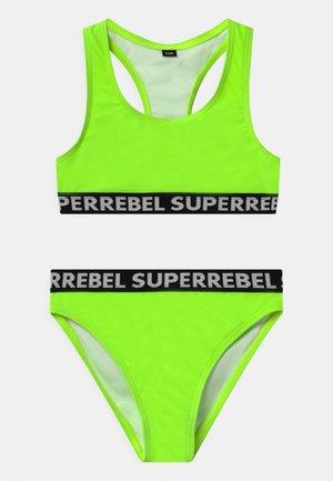 SET - Bikini - gecko green